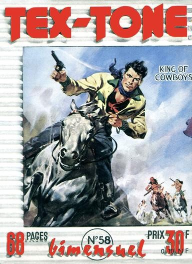 Couverture de Tex-Tone -58- Les kidnappers