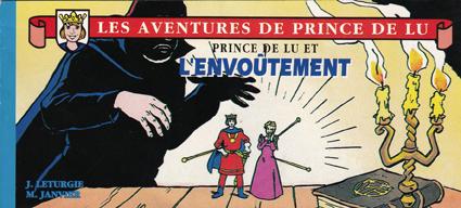 Couverture de Prince de Lu (Les Aventures de) -  Prince de Lu et l'envoûtement