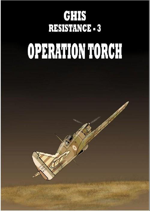Couverture de Résistance (Ghis) -3- Opération torch