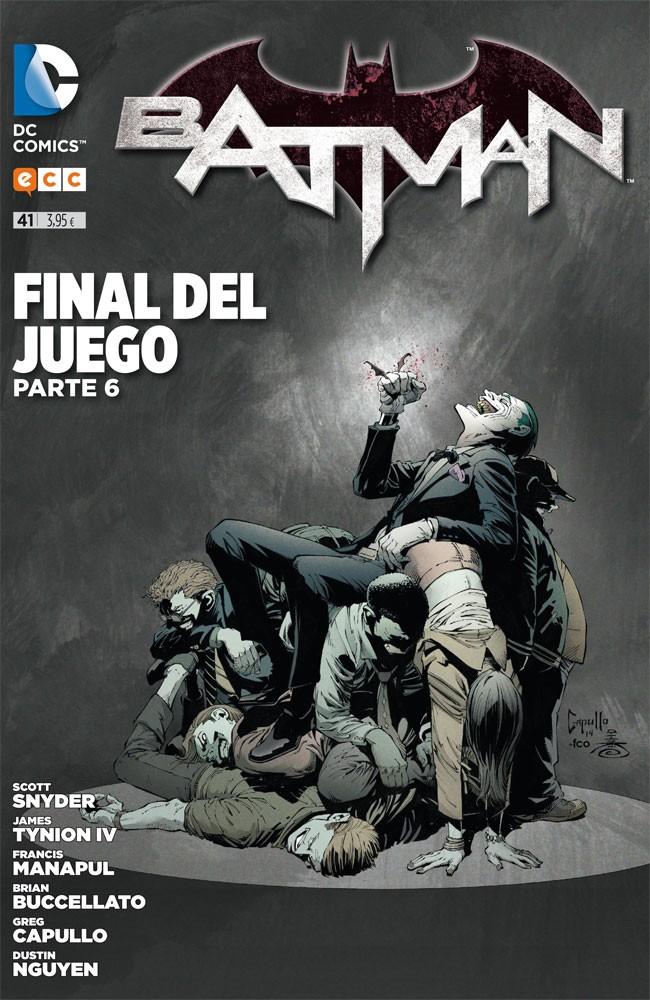 Couverture de Batman (en espagnol) -41- Final del Juego. Parte 6.