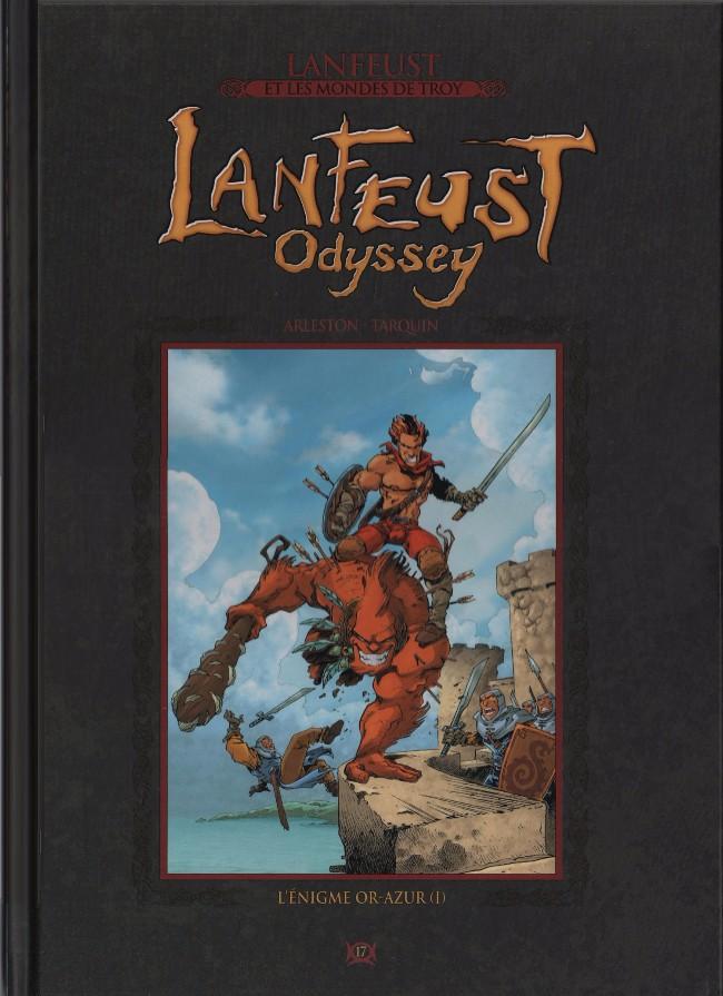 Couverture de Lanfeust et les mondes de Troy - La collection (Hachette) -17- Lanfeust Odyssey - L'énigme Or-Azur (I)
