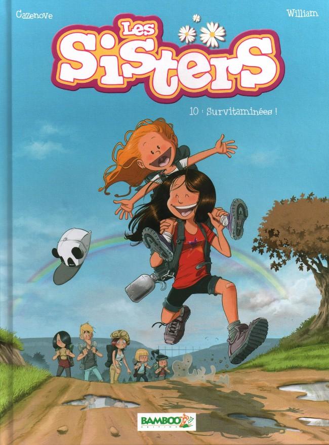 Couverture de Les sisters -10- Survitaminées !