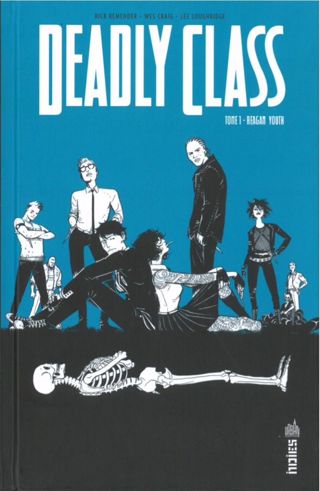 Couverture de Deadly Class -1- Reagan Youth