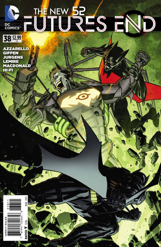 Couverture de New 52 (The): Futures End (2014) -38- Issue 38