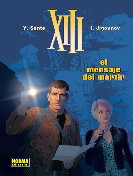Couverture de XIII (en espagnol) -23- El mensaje del mártir
