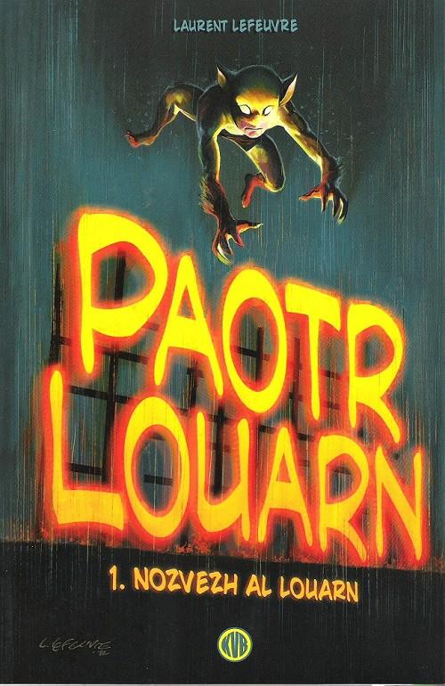 Couverture de Paotr Louarn (en breton)  -1- Nozvezh al louarn