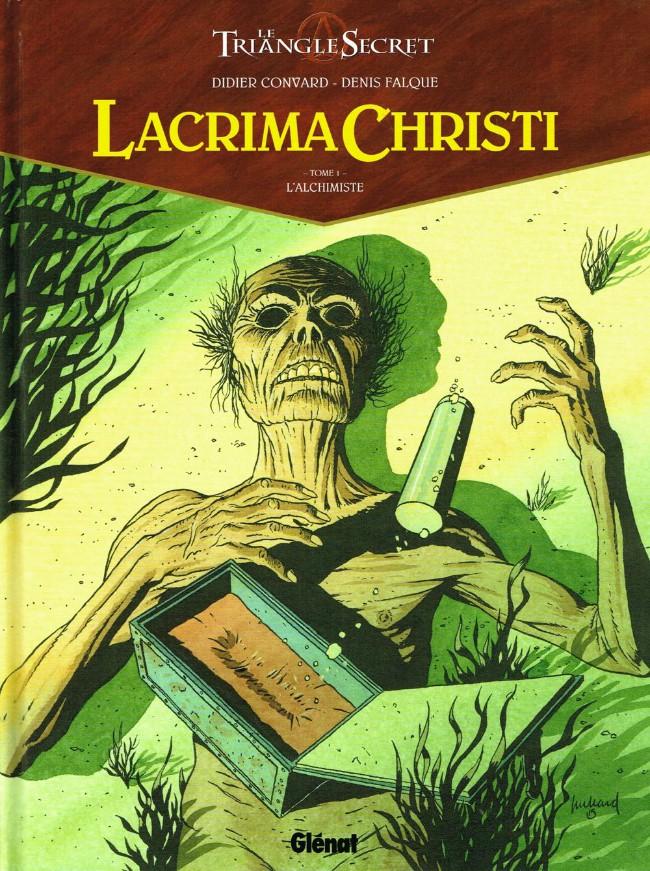 Couverture de Le triangle secret - Lacrima Christi -1- L'Alchimiste