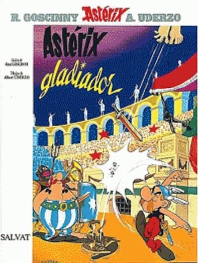 Couverture de Astérix (en espagnol) -4- Asterix gladiador