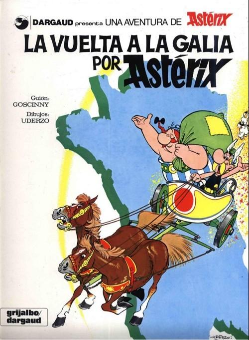 Couverture de Astérix (en espagnol) -5- La vuelta a la galia por astérix