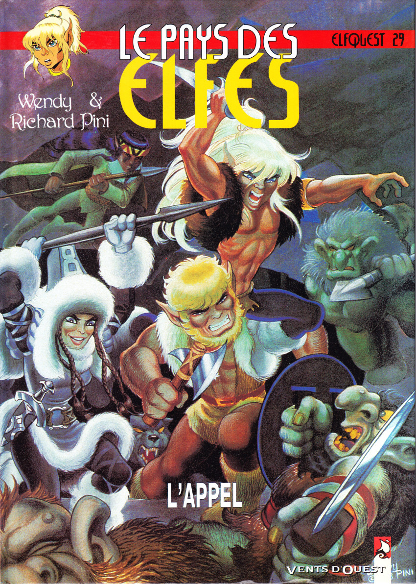 Couverture de ElfQuest - La Fantastique quête des elfes -29- L'appel