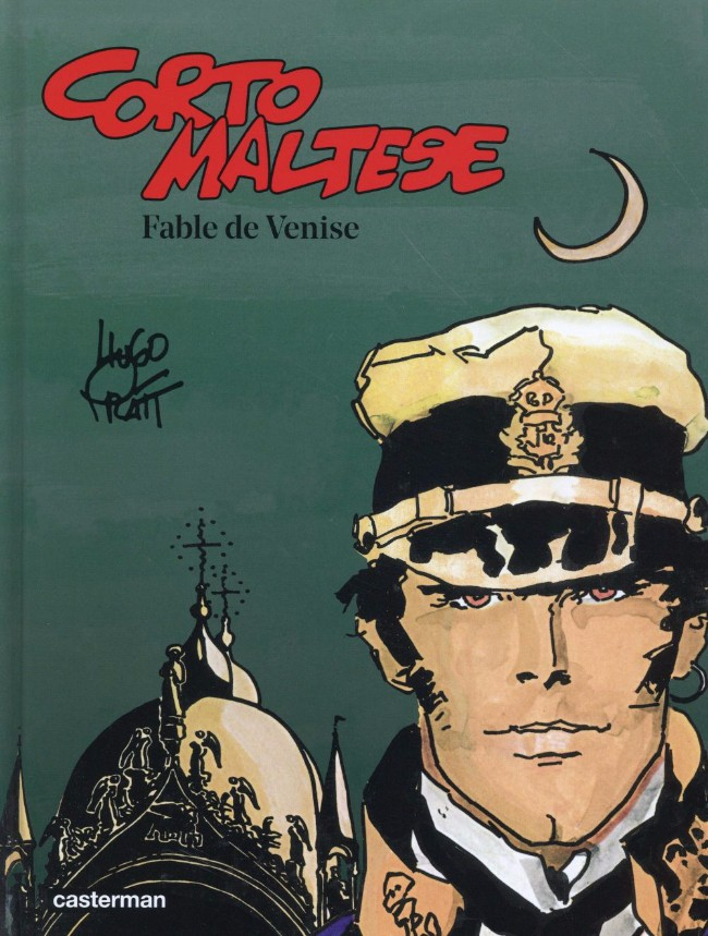 Couverture de Corto Maltese (2015 - Couleur Format Normal) -7- Fable de Venise