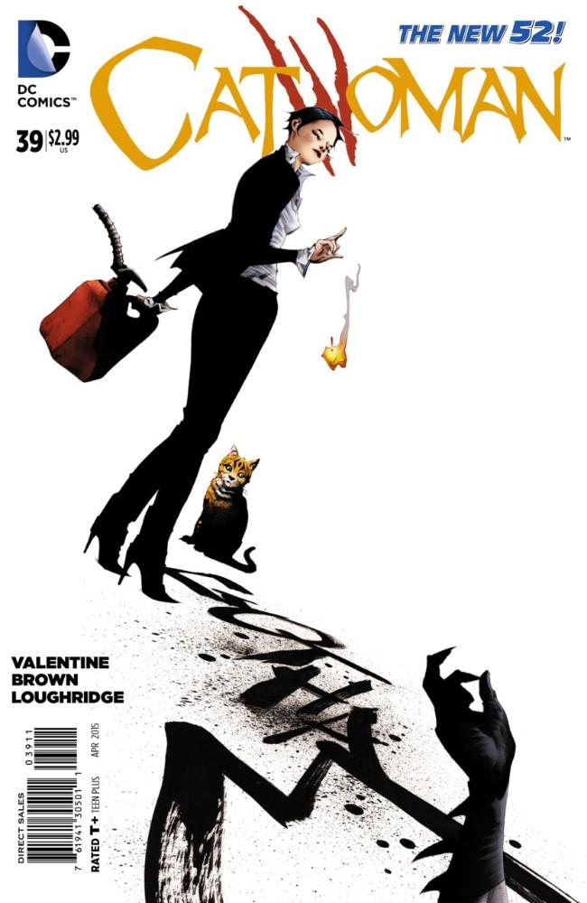 Couverture de Catwoman (2011) -39- Better Than He Does Himself