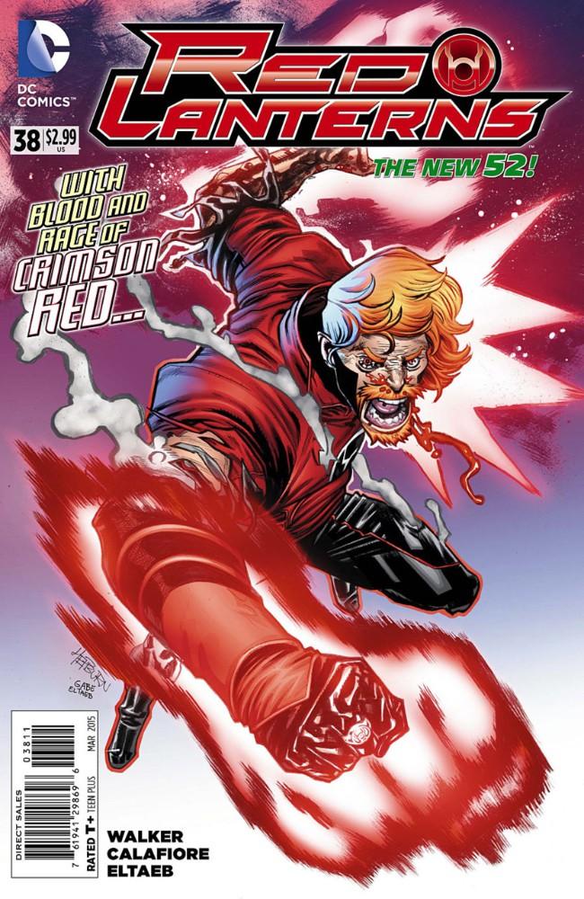 Couverture de Red Lanterns (2011) -38- Rage