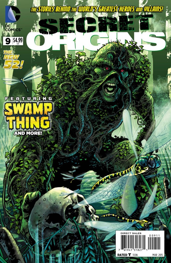 Couverture de Secret Origins (2014) -9- Secret Origins of Swamp Thing