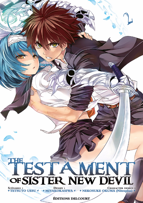 Couverture de Testament of Sister New Devil (The) -2- Tome 2