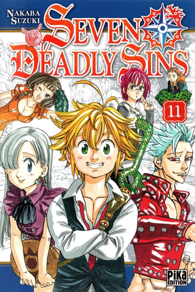 Couverture de Seven Deadly Sins -11- Tome 11