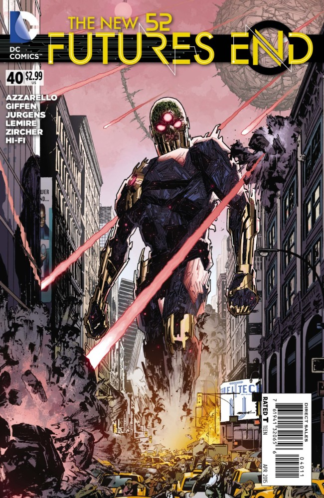 Couverture de New 52 (The): Futures End (2014) -40- Issue 40