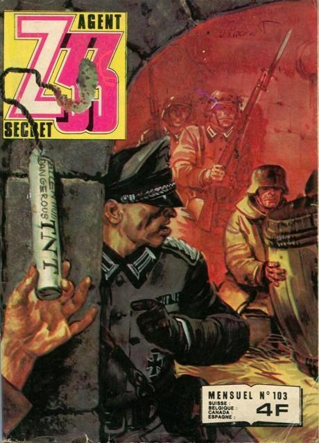 Couverture de Z33 agent secret -103- Passeport pour l'enfer