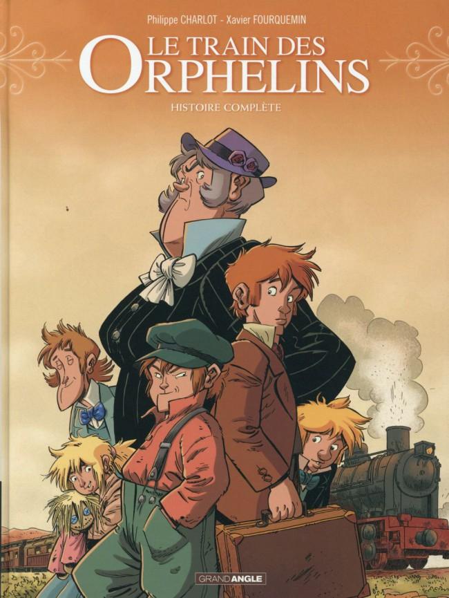 Couverture de Le train des Orphelins -INT1- Histoire complète