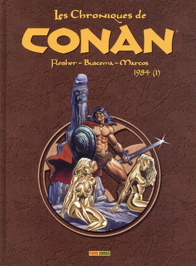 Couverture de Les chroniques de Conan -17- 1984 (I)