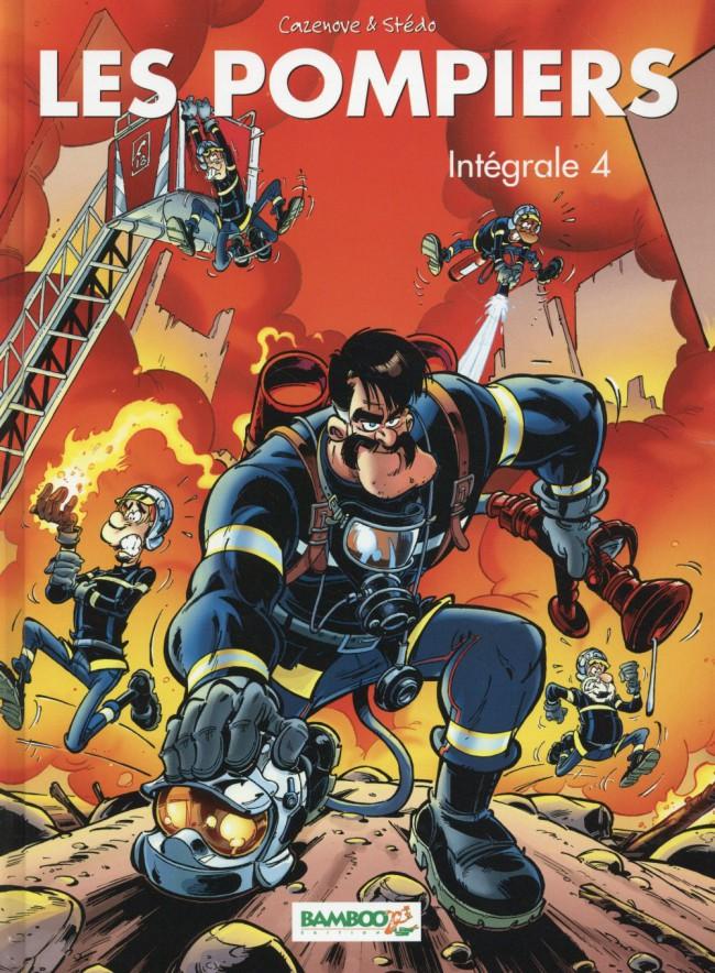 Couverture de Les pompiers -INT04- Intégrale 4