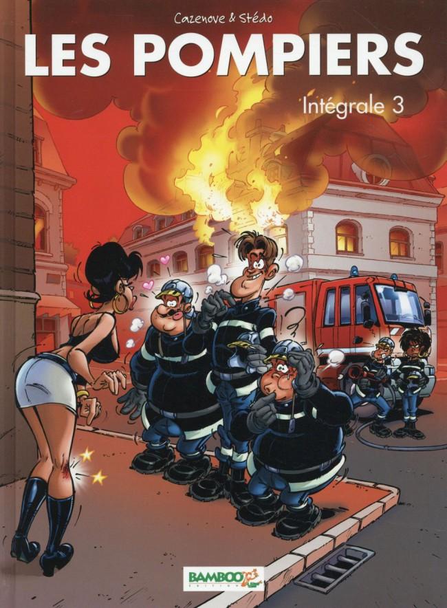Couverture de Les pompiers -INT03- Intégrale 3