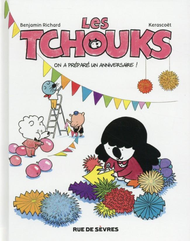 Couverture de Les tchouks -6- On a préparé un anniversaire !