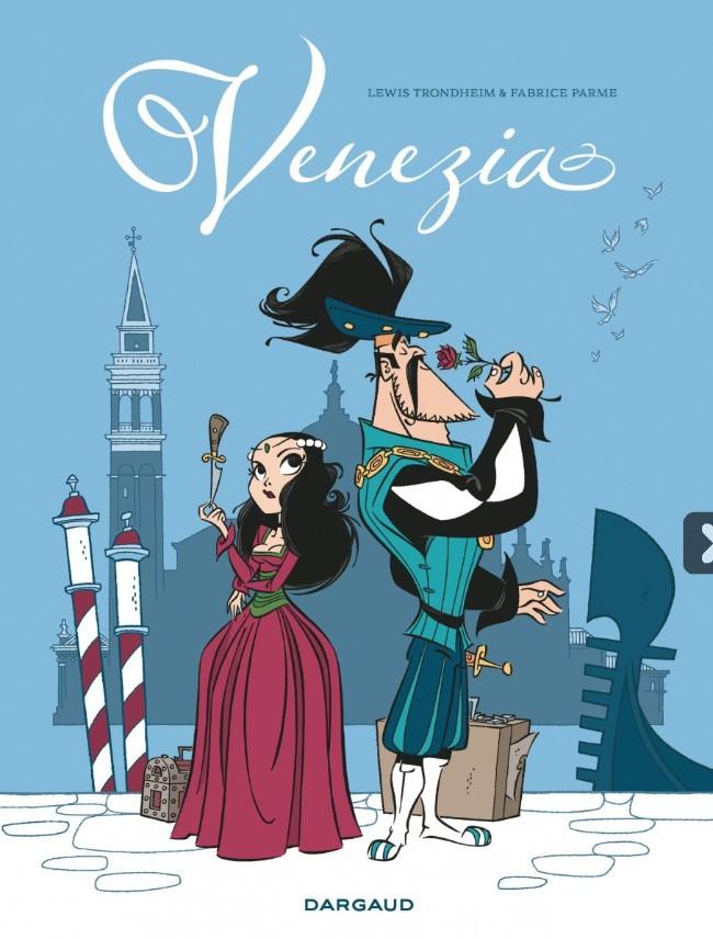 Couverture de Venezia -INT- Intégrale