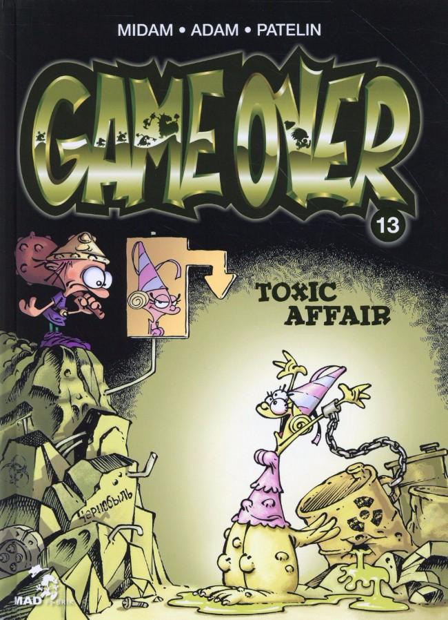 Couverture de Game Over -13- Toxic affair