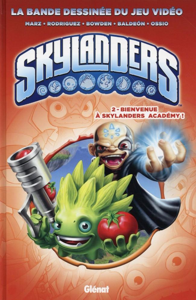 Couverture de Skylanders -2- Bienvenue à Academy !