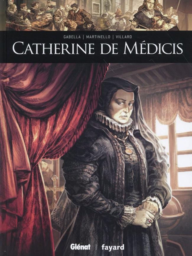 Couverture de Ils ont fait l'Histoire -11- Catherine de Médicis
