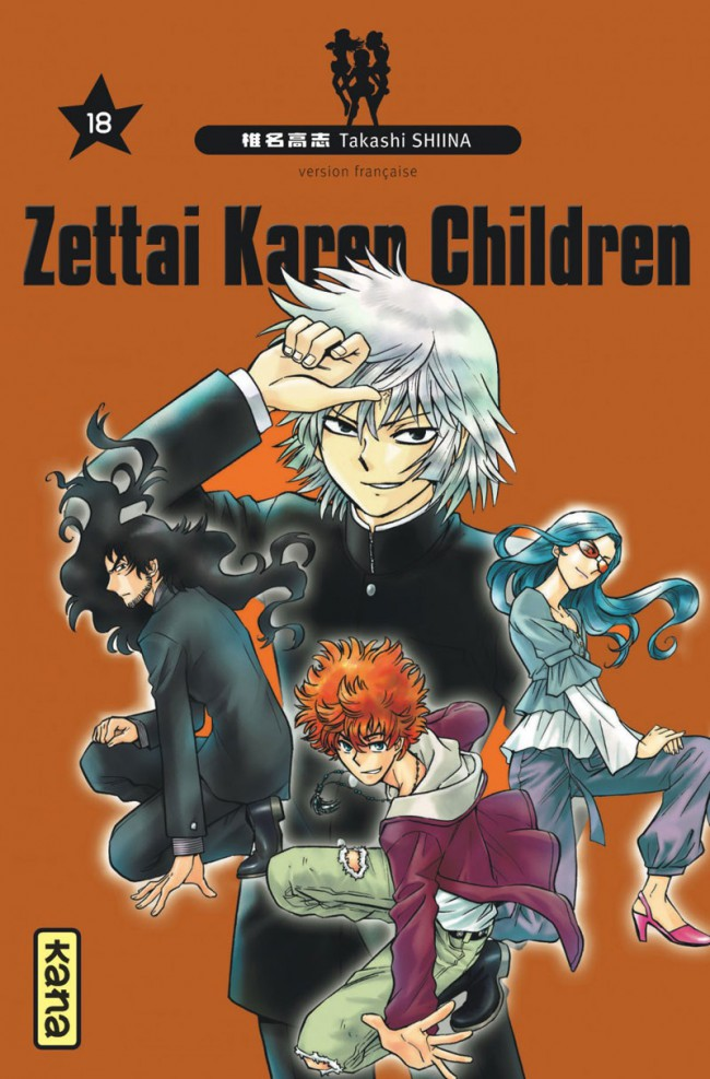 Couverture de Zettai Karen Children -18- Tome 18