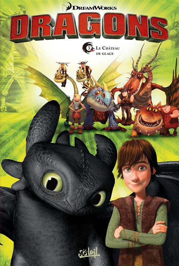 Couverture de Dragons (DreamWorks) -3- Le Château de glace