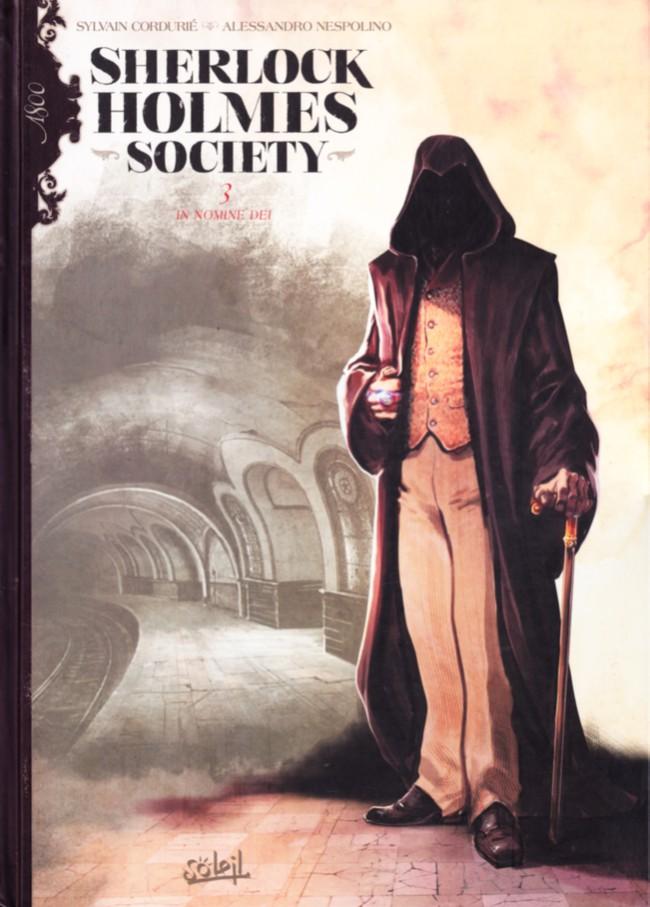Couverture de Sherlock Holmes Society -3- In Nomine Dei