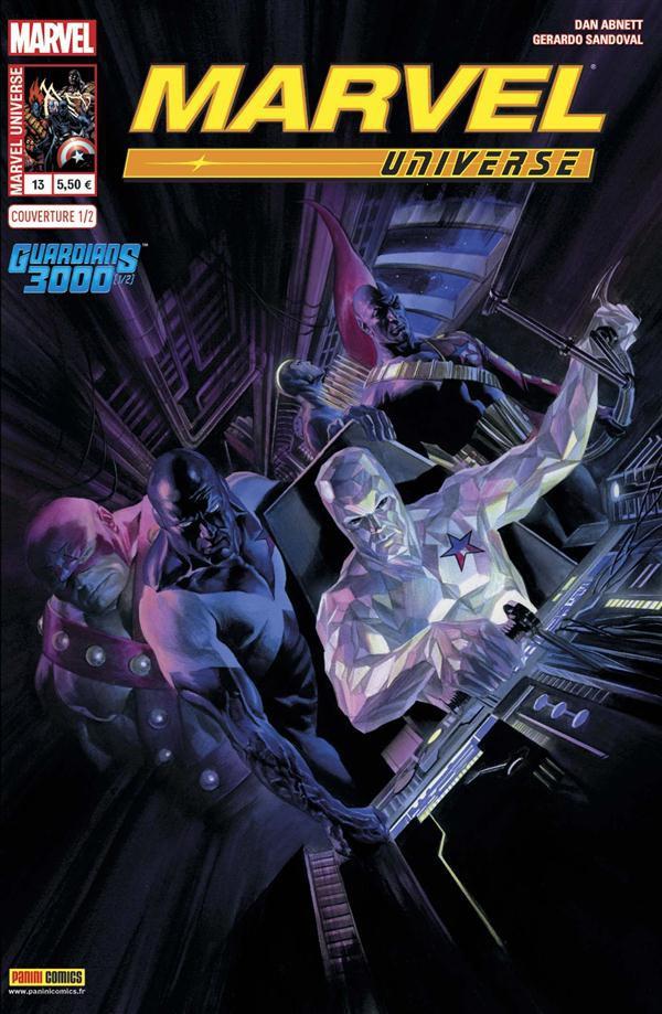 Couverture de Marvel Universe (Panini - 2013) -131/2- Guardians 3000 (1/2)
