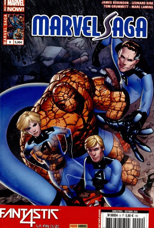 Couverture de Marvel Saga (2e série - 2014) -9- Fantastic Four - La Fin 1/2
