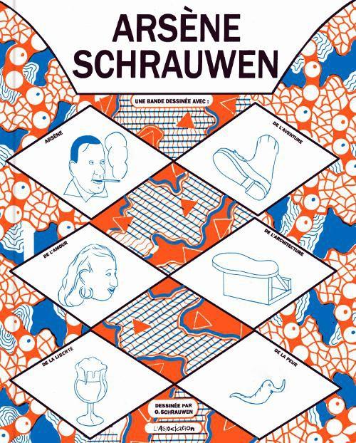 Couverture de Arsène Schrauwen