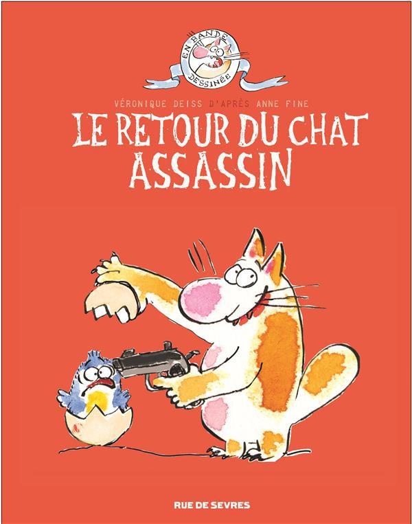 Couverture de Le chat assassin -2- Le retour du chat assassin