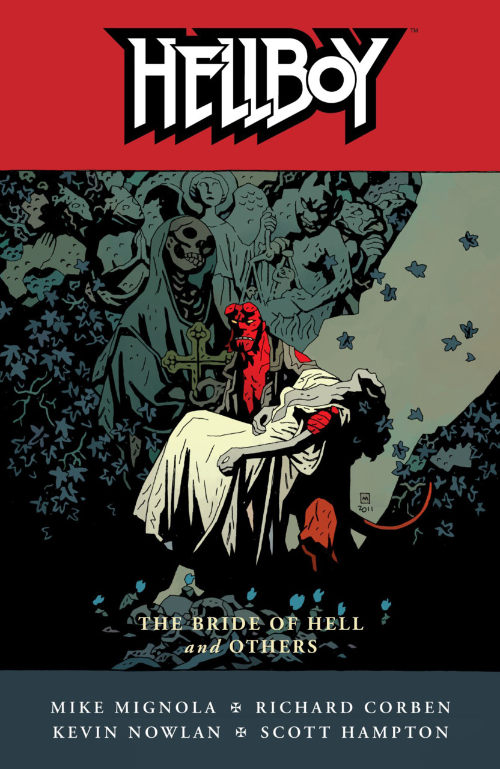 Couverture de Hellboy (1994) -INT11- The bride of hell and others