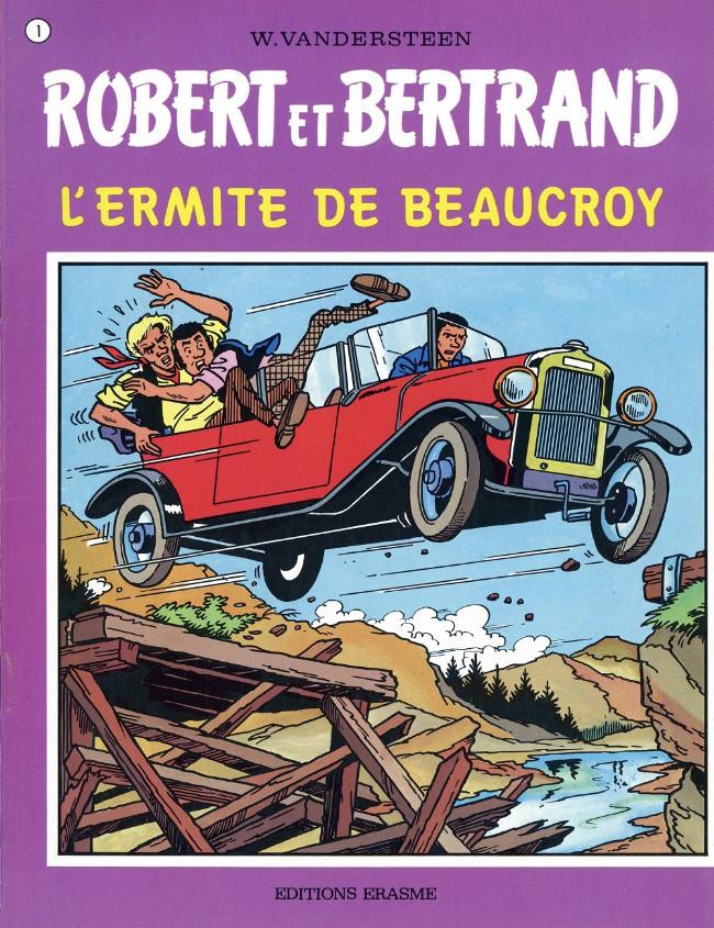 Couverture de Robert et Bertrand -1- L'ermite de Beaucroy