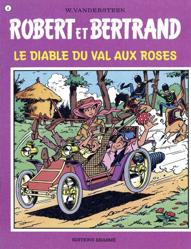 Couverture de Robert et Bertrand -4- Le diable du Val aux roses