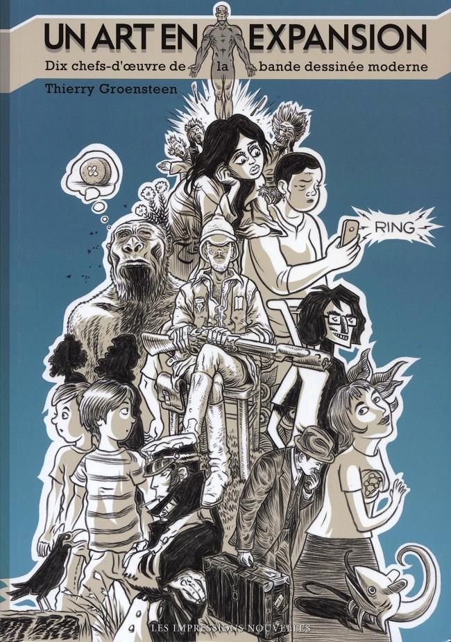 Couverture de (DOC) Études et essais divers - Un art en expansion - Dix chefs-d'œuvre de la bande dessinée moderne