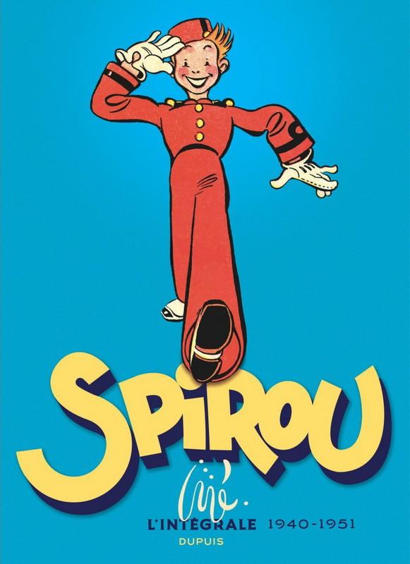 Couverture de Spirou et Fantasio -6- (Int. Dupuis 2) -0b- Spirou par Jijé - L'intégrale 1940-1951