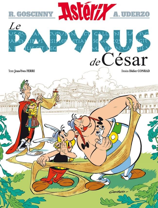 Couverture de Astérix -36- Le papyrus de César