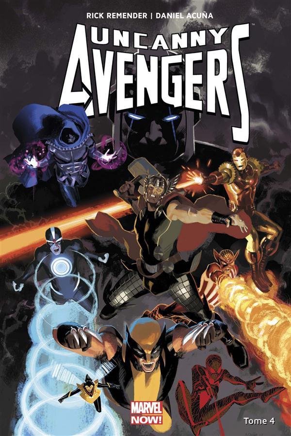 Couverture de Uncanny Avengers (Marvel Now!) -4- Pour Venger la Terre