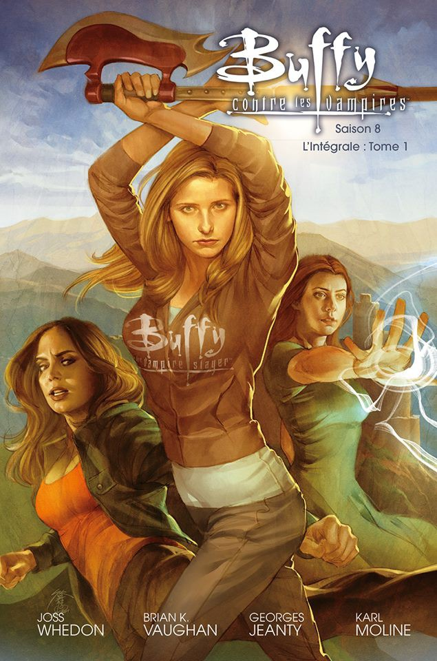 Buffy saison 8 dessin animé