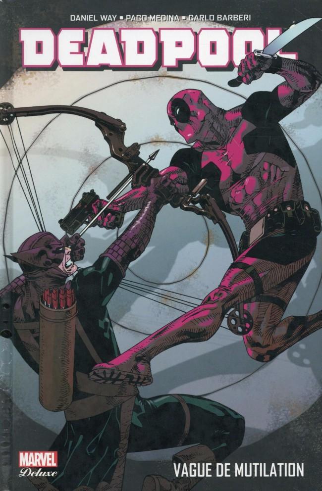 Couverture de Deadpool (Marvel Deluxe) -2- Vague de mutilation