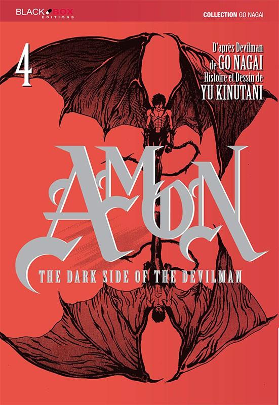 Couverture de Amon - The dark side of the Devilman -4- Tome 4