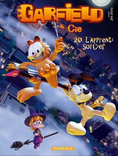Couverture de Garfield & Cie -20- L'apprenti sorcier