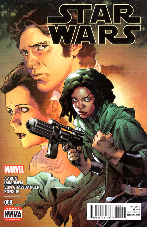 Couverture de Star Wars (2015) -9- Book II, Part II : Showdown On The Smugglers'